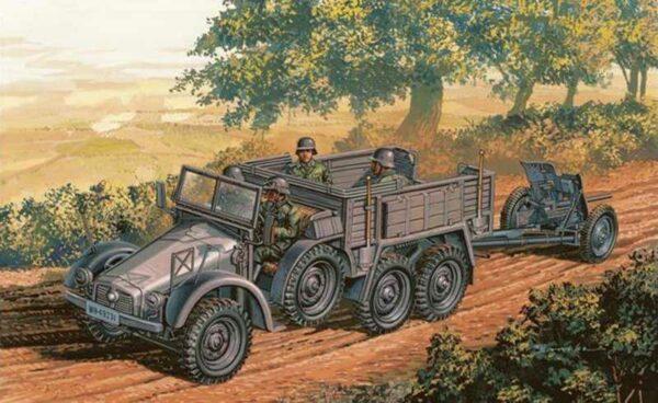 LKW Krupp Protze m. PaK
