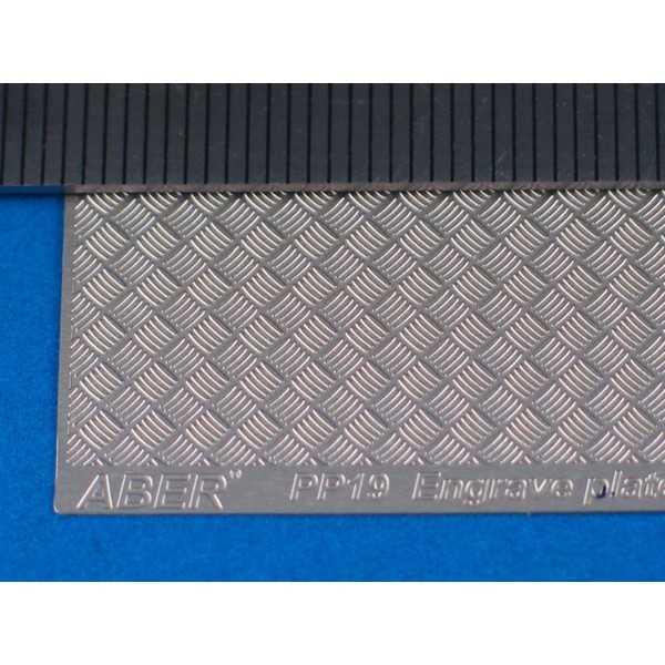 Engrave plates (Modern type  5x5 strips