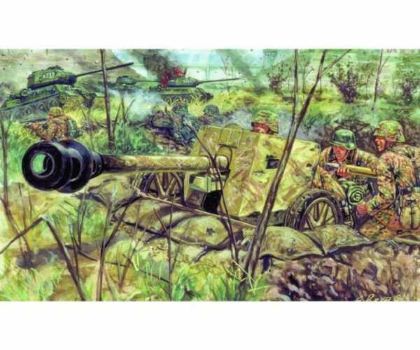 WWII dt. Panzerabwehrkanone Pak 40