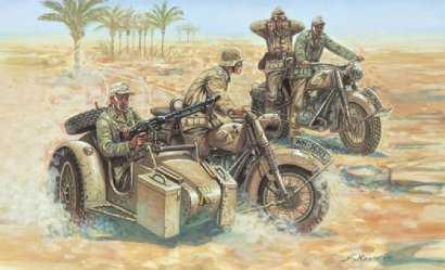 WWII Deutsche Motorräder