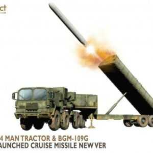 Nato M1014 MAN Tractor&BGM-109G Ground Launched Cruise Missile new Ver