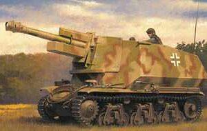 10.5cm leFH18(Sf) a.Geschutzwagen 39H(f