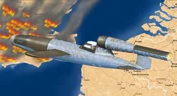 V-1 Fi103 Re 4 Piloted Flying Bomb