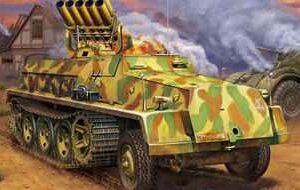 15cm Panzerwerfer 42 (Zehnling) auf sWS