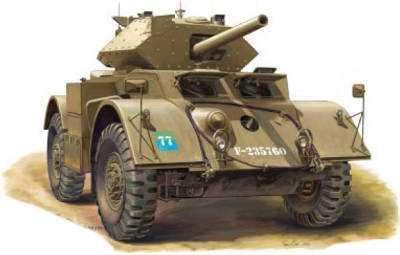 Staghound Mk.III Armoured Car