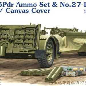 25pdr Ammo set&No.27 Limber w/CanvasCove