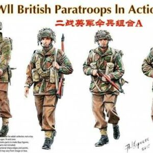 WWII British Paratroops In Action Set A