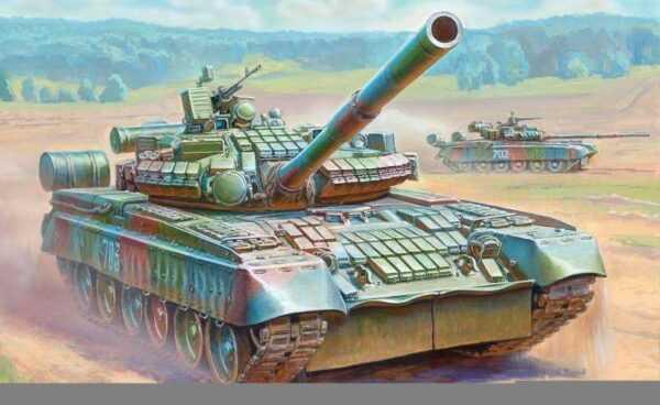 T-80U with ERA