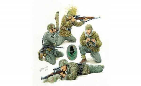 German Sniper Team WWII