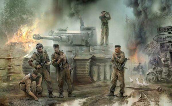 Deutsche Panzerbesatzung 43-45