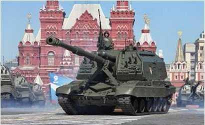 MSTA-S - Russian 152mm Self-Propelled Howitzer