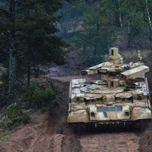 BMPT-72 Terminator 2 Russian fire