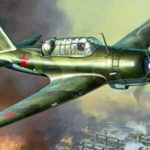 WWII Russischer SU-2 Leichter Bomber