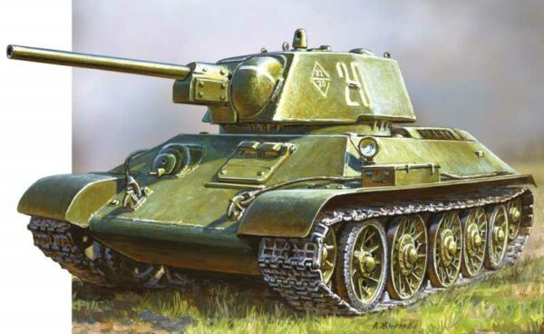 WWII Rus. KPz T34/76 Snap-Fit