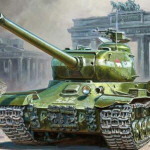 WWII Panzer IS-2 Stalin
