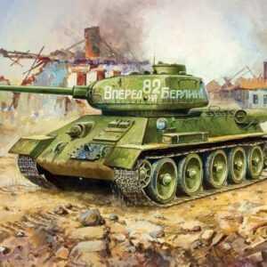 T-34/85 Soviet Medium Tank WWII