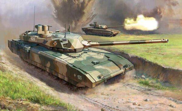 T-14 Armata Russian Battle Tank