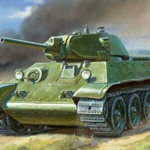 WWII Wargame Add-On T34/76 Panzer