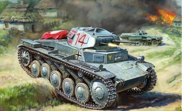 WWII Wargame Add-On Dt. Panzer II