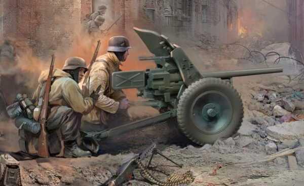 WWII Wargame AddOn Dt. Pak-36 mit Truppen