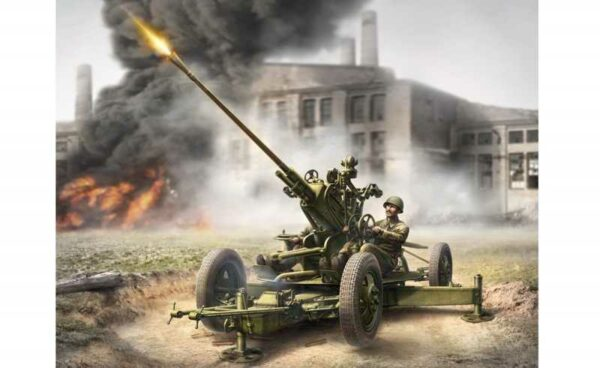 WWII Wargame AddOn Sov. Flak mit Truppen
