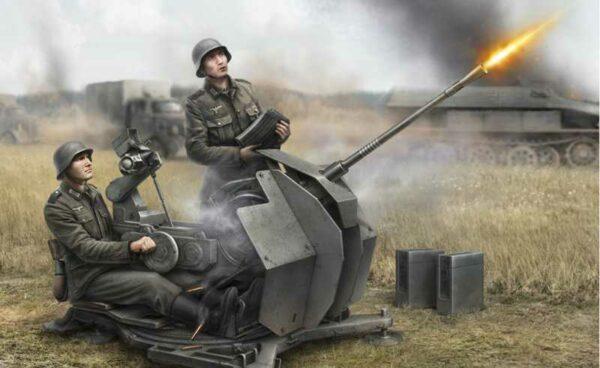 WWII Wargame AddOn Deutsche 2cm Flak 38