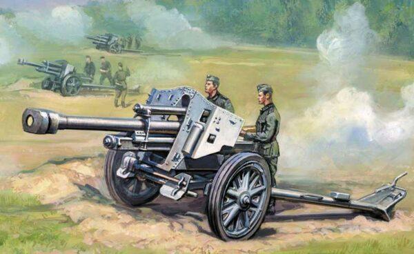 WWII Wargame AddOn Deutsche Haubitze leFH-18
