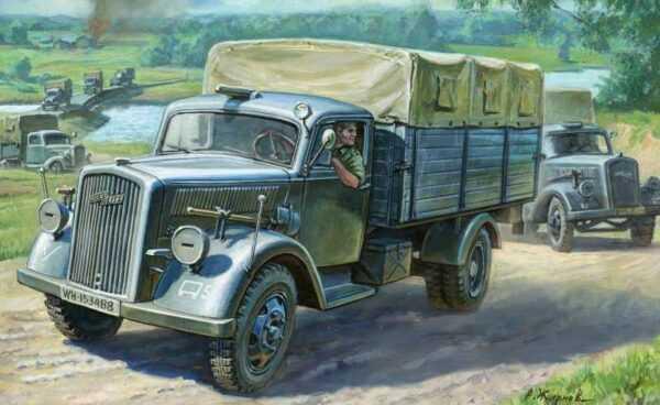 WWII Wargame AddOn Deutscher 3t Transport LKW
