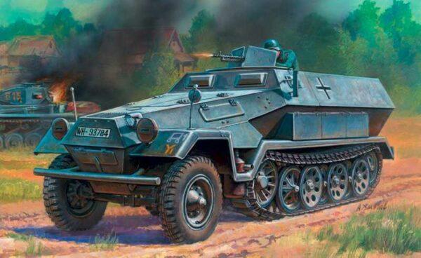 WWII Wargame AddOn Sd.Kfz.251/1B