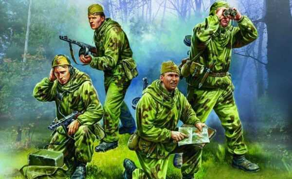 WWII Sov. Aufklärungs-Trupp