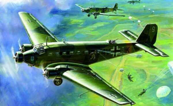 Junkers Ju 52 Transport Flugzeug - Wargame AddOn