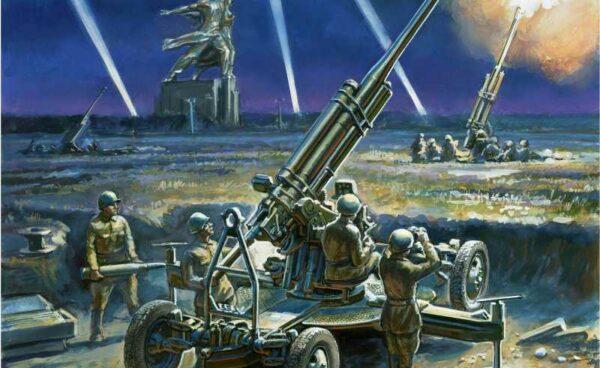 Soviet 85 mm Anti-Aircraft-Gun