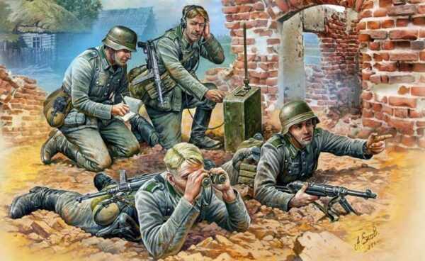 WWII Wargame AddOn Deutscher. Späh-Trupp