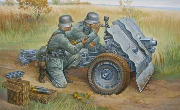 WWII Wargame AddOn Dt.75-mm Inf.Geschütz