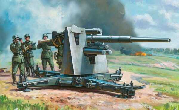 German 88 mm Flak 36/37