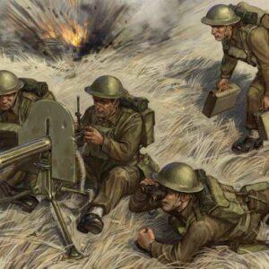 Brit.Maschinengewehr m.Crew 1939-42
