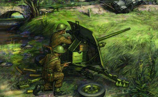 Brit.QF 2-pdr Pz.abwehrkanone