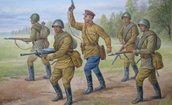 Soviet reguläre Infanterie 1941-42