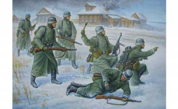 Deutsche Infanterie (Winteruniform)