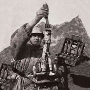 Deut. 80-mm Mörser m.Crew (Winter)