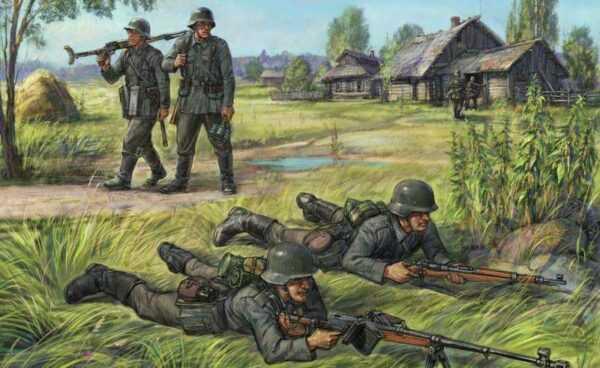 German Anti Tank Rifle Team