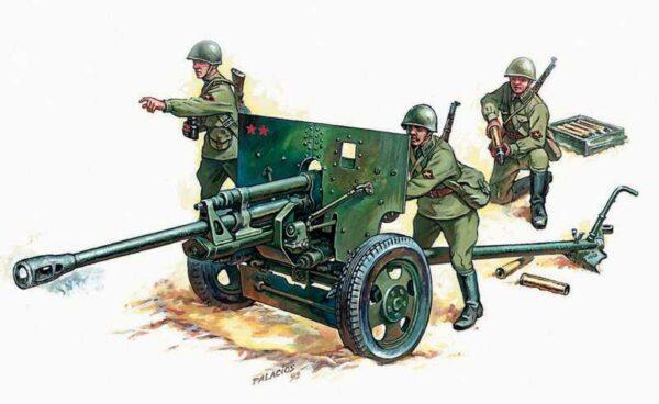 Zis - 3 Soviet Gun