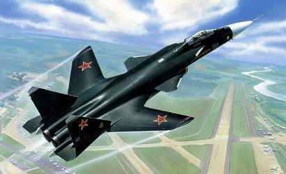 Kampfjet Sukhoi SU-47 Berkut