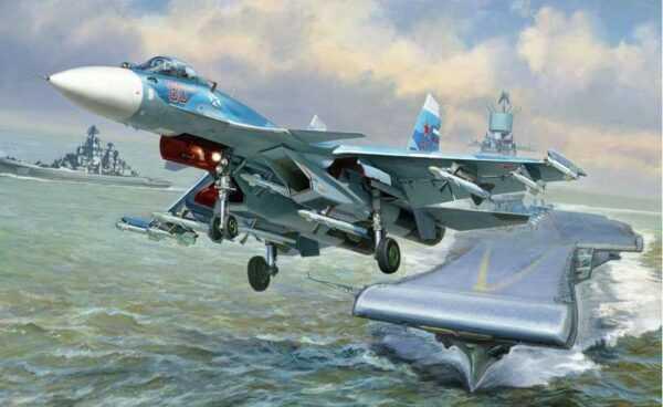 Sukkoi SU-33 Russian Naval Fighter