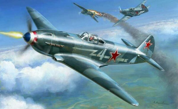 Yak-3 Soviet Jagdflugzeug