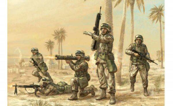 U.S. Moderne Infanterie