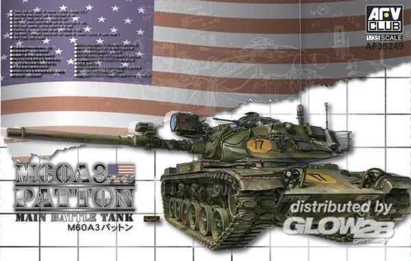 M60A3 TTS Patton Main Battle Tank