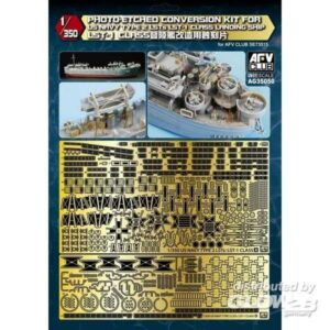 Photo-Etched conversion set for US Navy Type 2 LST-1 Class