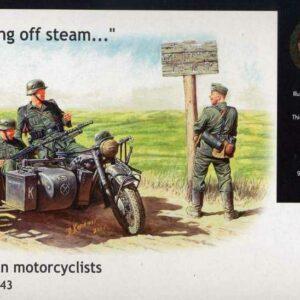 German Motorcyclists 1940-42