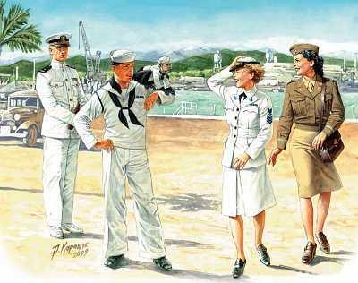 Woman at war: US Navy WAVES